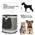 Pet Carrier Backpack pour chat chien
