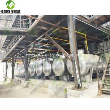 Waste Lube Oil Vacuum Distillation System