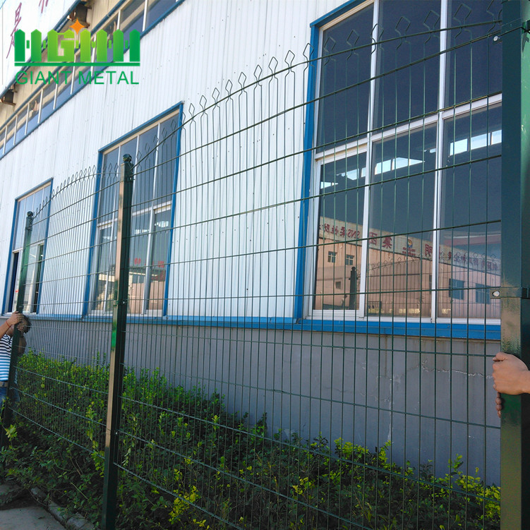 Factory Supply PVC Coated Prestige Wire Mesh Fence
