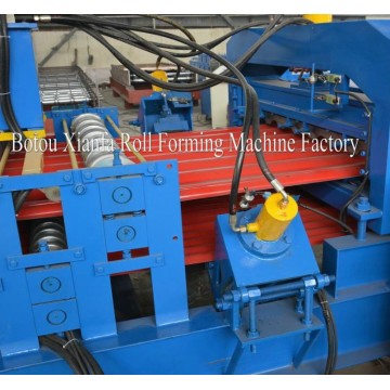 Corrugated Iron Double Deck Roll Forming Machine