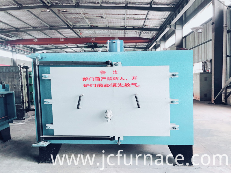 The sintering furnace is finished
