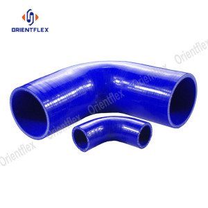 Light weight 180 elbow silicone hose