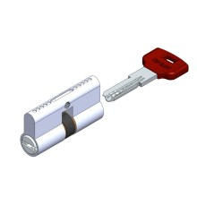 Double sided computer cylinder lock 6pin