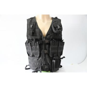 Black safety Tactical Vest