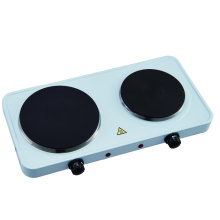 Good Quality for China Double Iron Hotplate,Double Burner Electric Hotplate,220V Hotplate Supplier Kitchen Countertop Cast-Iron Double Burner export to Bermuda Exporter