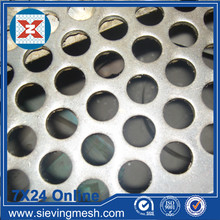 Round Hole Perforated Metal Mesh