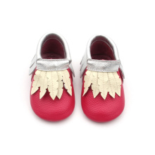 Christmas baby kids dress shoes