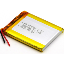 3000mAh Lithium ion Polymer Battery for Speakers (LP5X6T7)