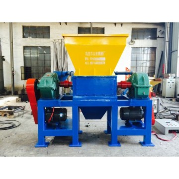 Single Shaft Shredder machine heavy duty for plastics