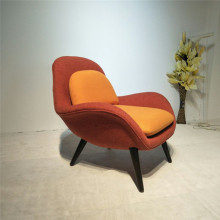 Modern italian leather Swoon modern Lounge chairs
