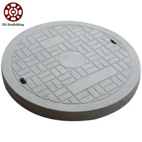 Drainage manhole cover with drain system