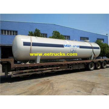 35000 Liters Industrial Domestic LPG Tanks