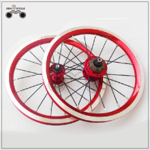 Bicycle wheel Folding bike wheel Quick release bicycle wheel