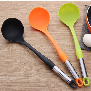 Kitchen accessories nylon custom soup spoon set