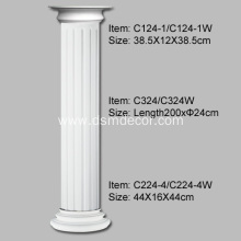 Purchasing for Full Columns 24cm Diameter PU Fluted Columns supply to Portugal Importers