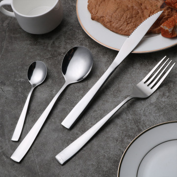Home Hotel Restaurant Usage Stainless Steel Cutlery set
