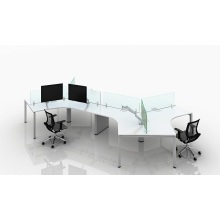 New Arrival China for Office Furniture Workstation Modern office partition table desk export to Palau Supplier