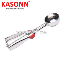 Good Quality for Ice Cream Scoops High Quality Large Stainless Steel Cookie Dropper supply to Luxembourg Exporter