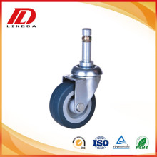 Purchasing for China Grip Neck Caster,Fixed Caster,Grip Neck Stem Caster Supplier 2 inch grip neck light duty casters supply to Reunion Supplier