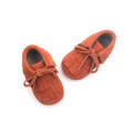 Fashion  Double-Deck Moccasins  Leather Baby Shoes