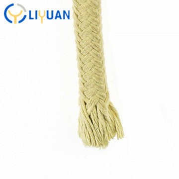 Abrasive resistance twisted braided kevlars rope