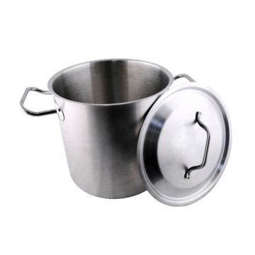 Stainless Steel Low Casserole Hot Pot