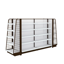 Metal Display Shelving Units For Supermarket And Store