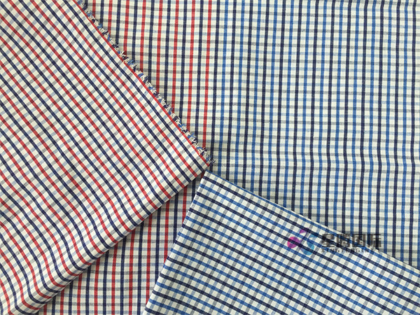 Yarn Dyed Small Check Plaid Fabric For Uniform