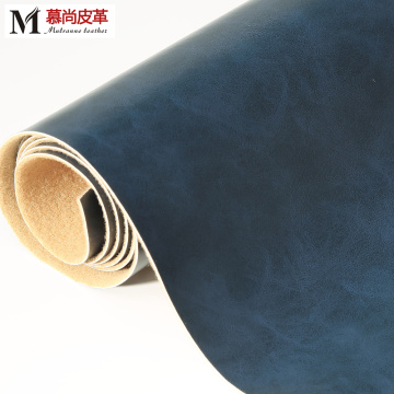 Two Tones PVC Leather Environmental Protecti