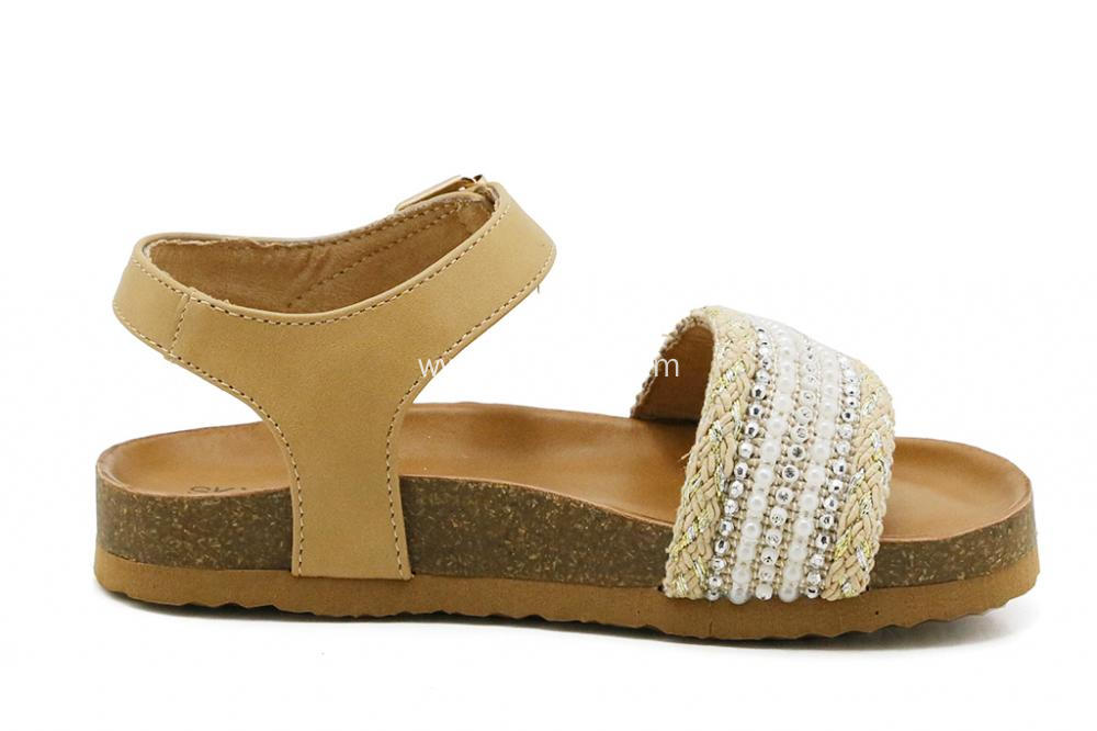 Beautiful Sandals with Buckle for Kid Girls