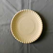 "7"" Paper Plates Embossed Design White"