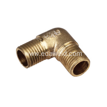 External Thread Elbow Brass Joint Fittings
