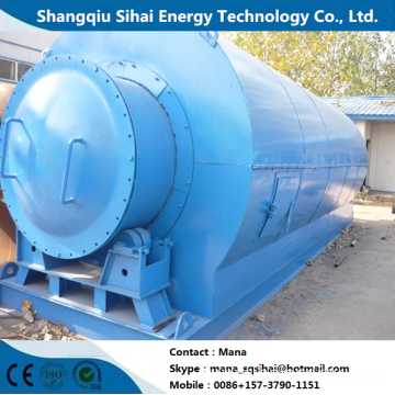 Green Facility of Waste Tires Pyrolytic Machine