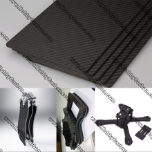 China for Carbon Glass Mid Sheets UAV Woven Full Carbon Glass Sheet supply to Italy Factory