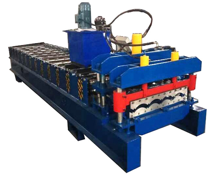 828 glazed tile machine