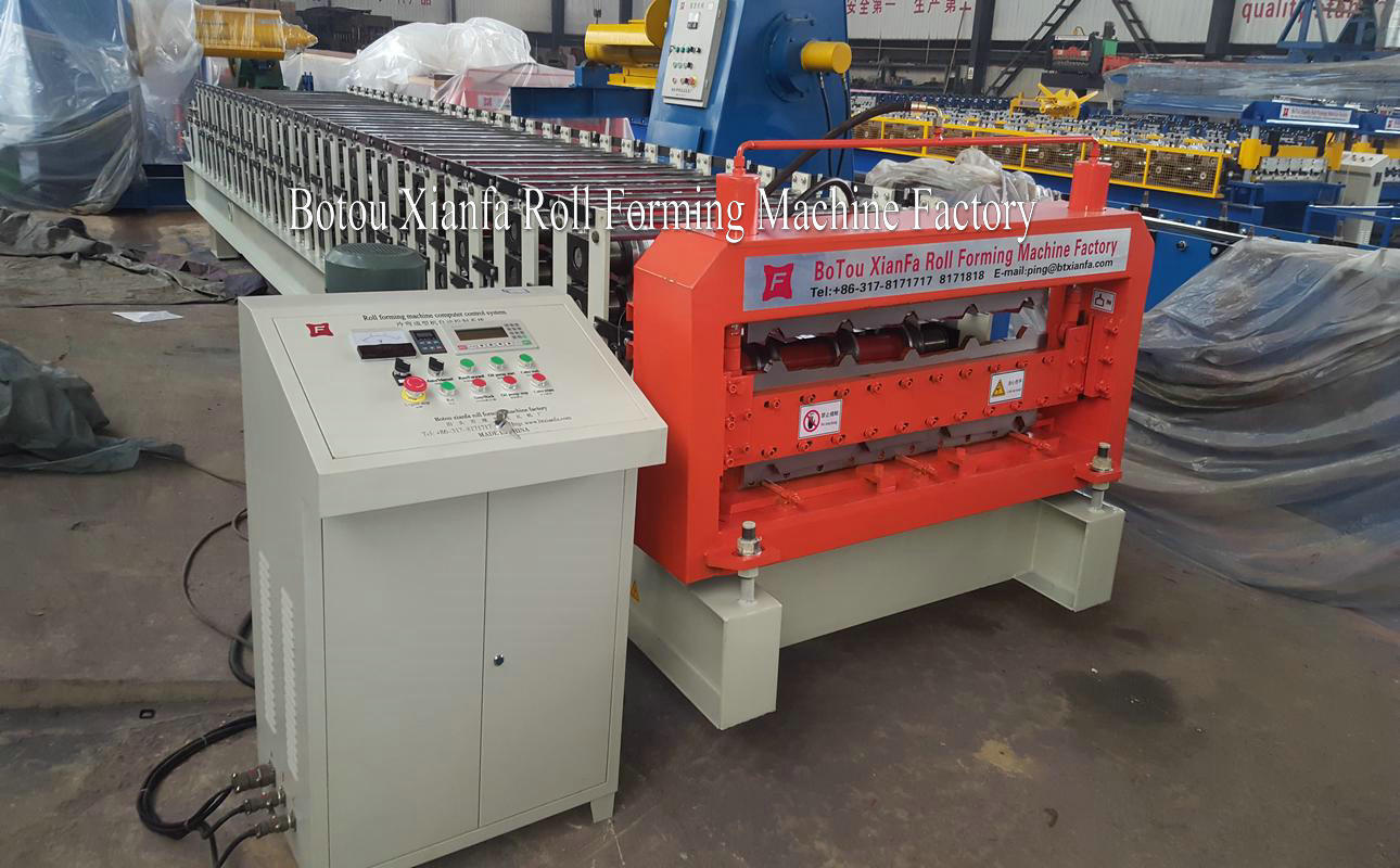 ibr and corrugated machine