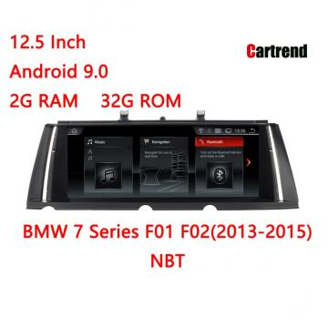 Radio Dashboard Para 7 Series F01 F02