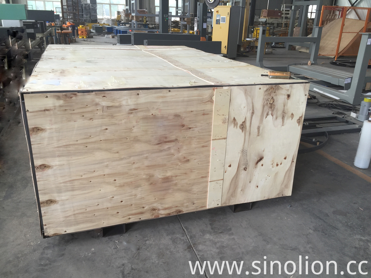 Autoamtic Pallet Wrapper wooden case