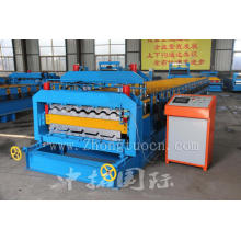 Sheet Metal Roofing Shingles Double Layer Roll Forming Machine