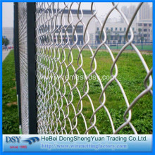 OEM China for Pvc Coated Diamond Mesh High Security PVC Coated Galvanized Chain Link Fence supply to Poland Suppliers