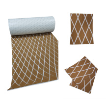 Light Brown & White EVA Marine Diamond Sheet