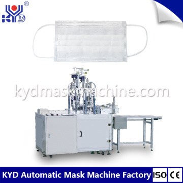 Outer earloop flat mask welding machine