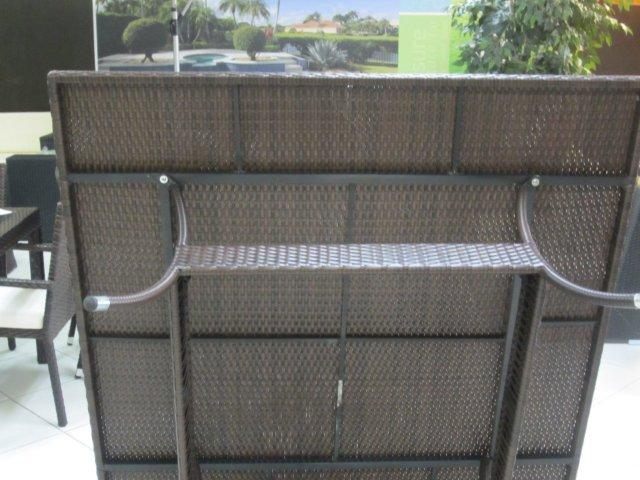 outdoor rattan dining set