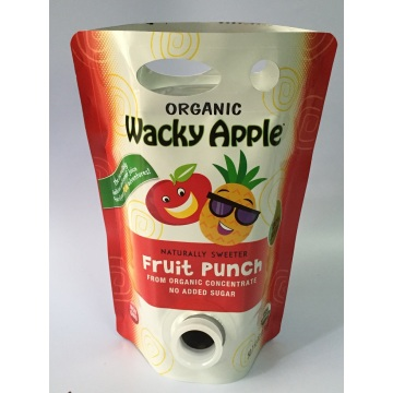 Spout Pouch for Juice with Handle