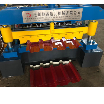 Automatic steel roof panel forming machine