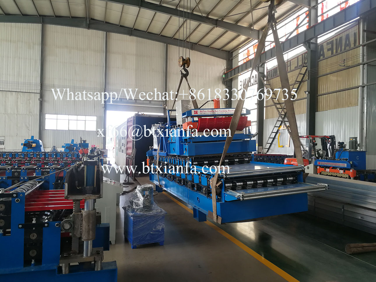 metal roof curving machine and double layer ibr roll forming machine