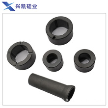 Ceramic bearing and shaft sleeve for mechanical