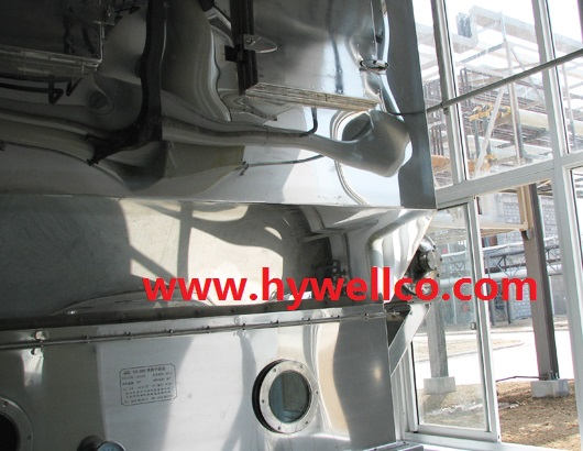 Plastic Resin Fluid Bed Dryer