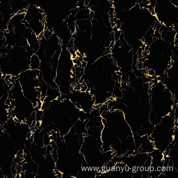 Black Mirco Crystal Composite Panel Floor Tile