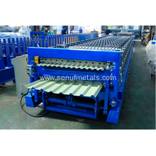 Double Layer Roof Automatic Tile Roll Machine